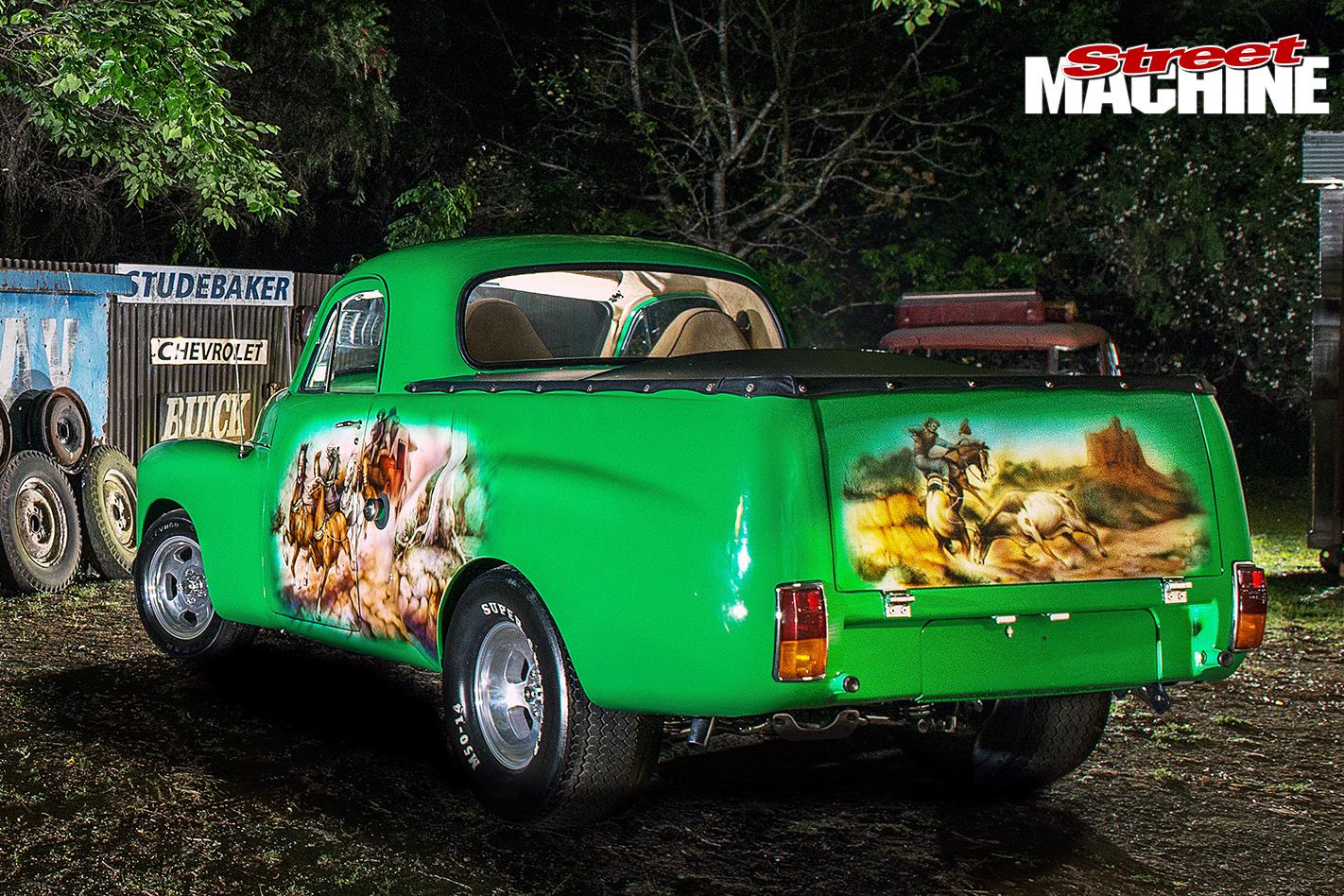 Holden -FJ-Utility -rear -mural
