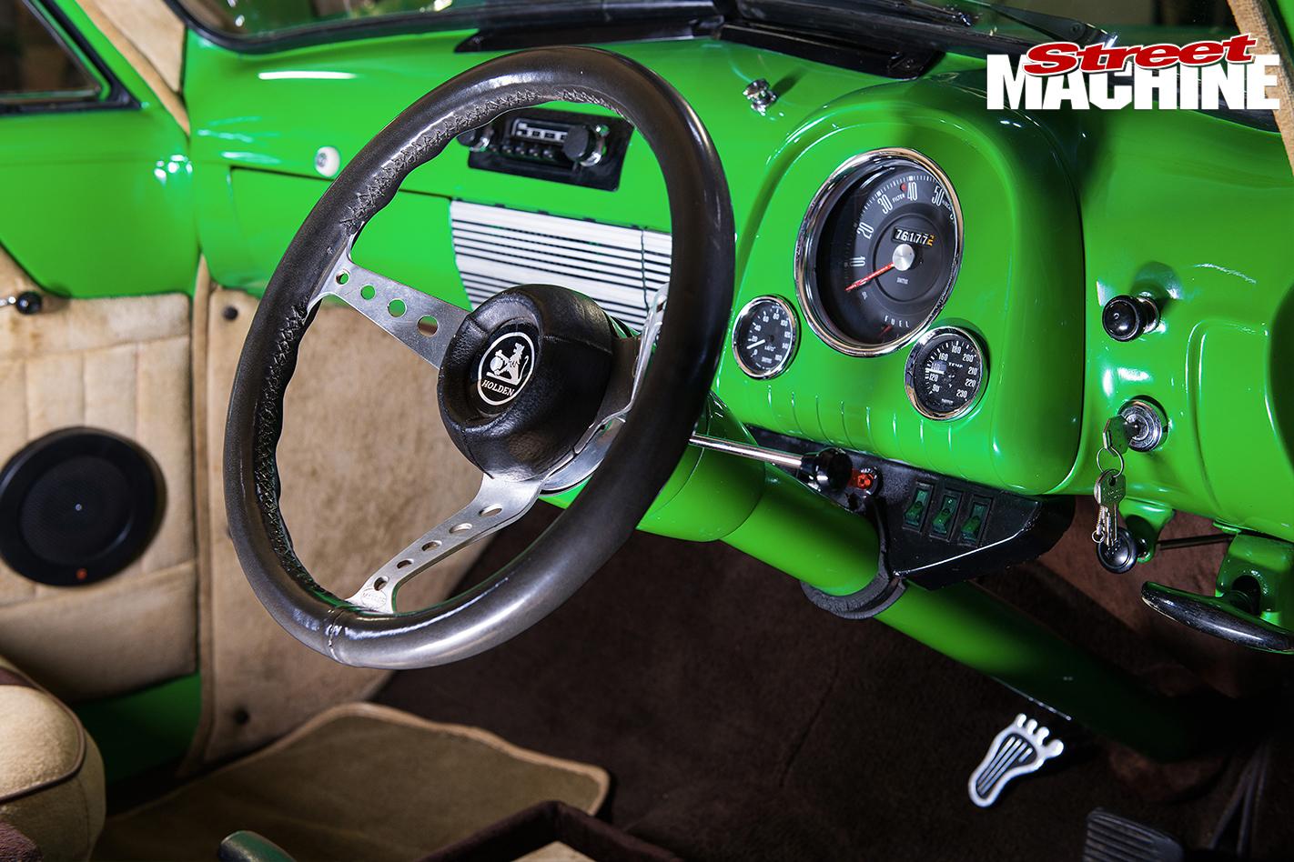 Holden -FJ-Utility -dash