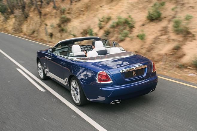 Rolls -Royce -Dawn -converible -rear