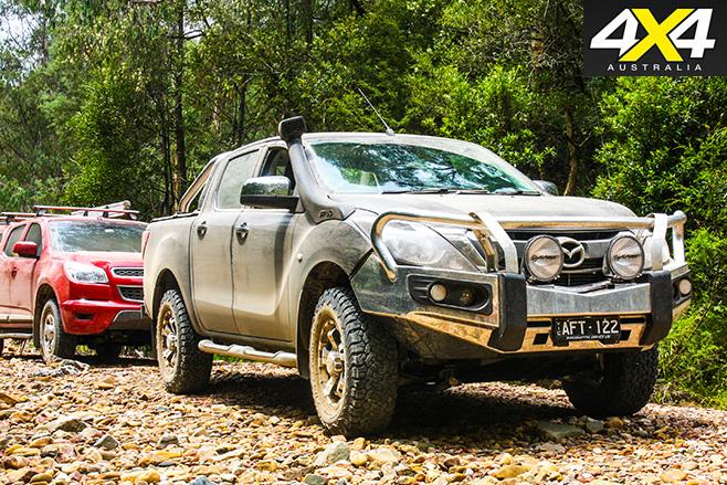 Mazda BT-50 XTR side