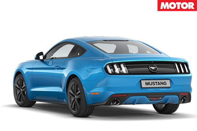 2017 Ford Mustang rear