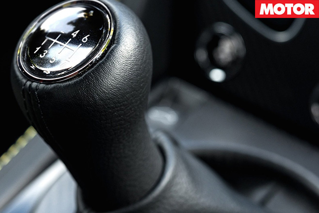 Aston Martin V12 Vantage S manual diy shifter