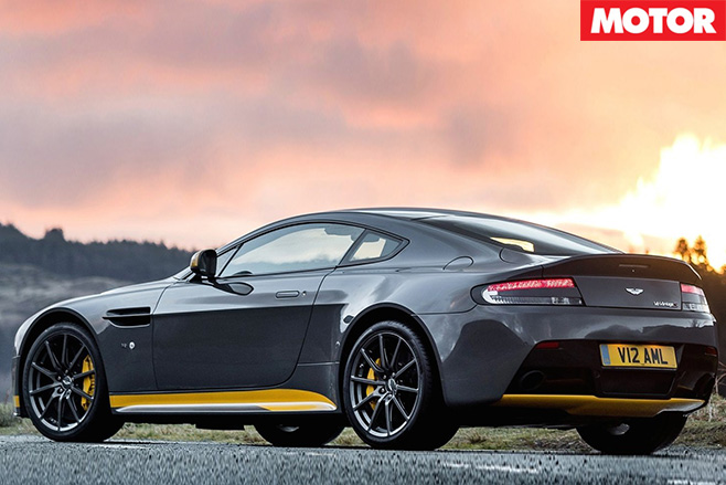 Aston Martin V12 Vantage S rear