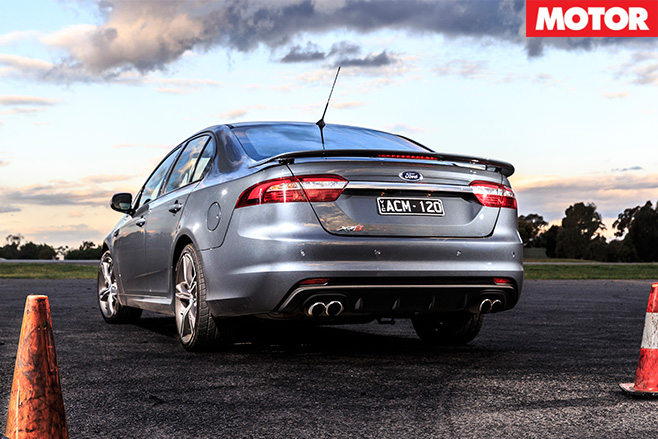 Ford falcon XR8 rear