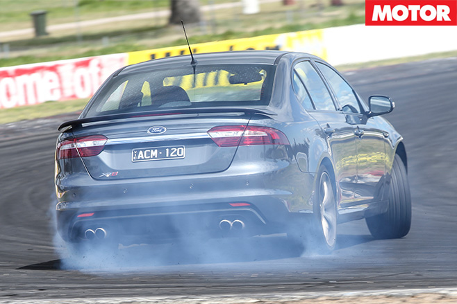 Ford falcon XR8 burnout