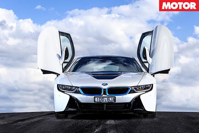 BMW-i 8-front