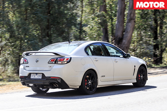 Holden commodore ss v redline rear