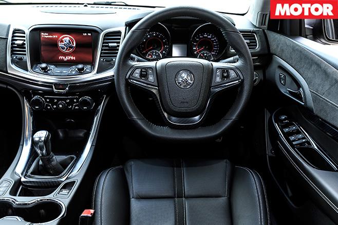Holden commodore redline interior