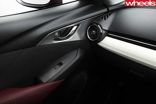 Mazda -CX-3-interior -door -trim