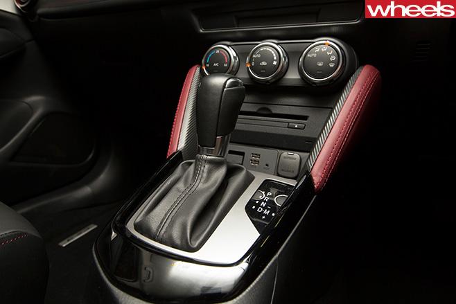 Mazda -CX-3-transmission