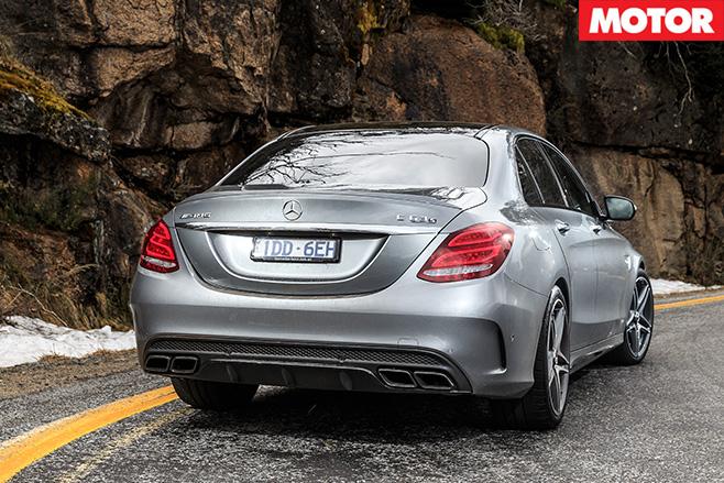 Mercedes-AMG C63 S rear