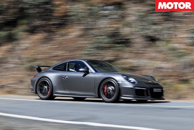 Porsche 911 GT3 driving side