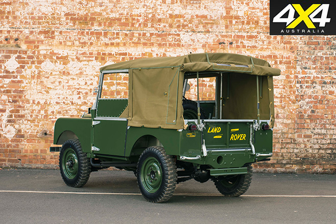 Land Rover Classic series 1 Reborn rear