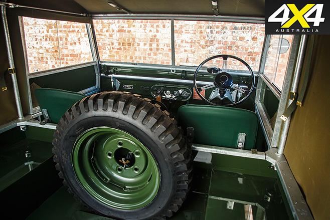 Land Rover Classic Reborn interior 2