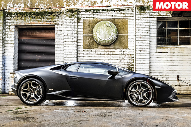 Lamborghini Huracan LP610-4 side
