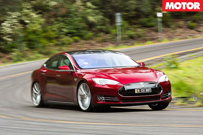 Tesla driving
