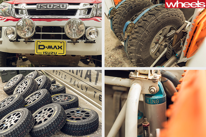 Isuzu -D-Max -Dakar -ute -car -mechanics -tyres -suspension