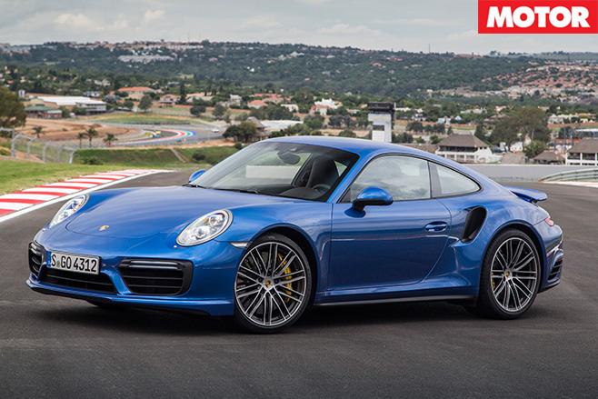 Porsche 991.2 911 Turbo