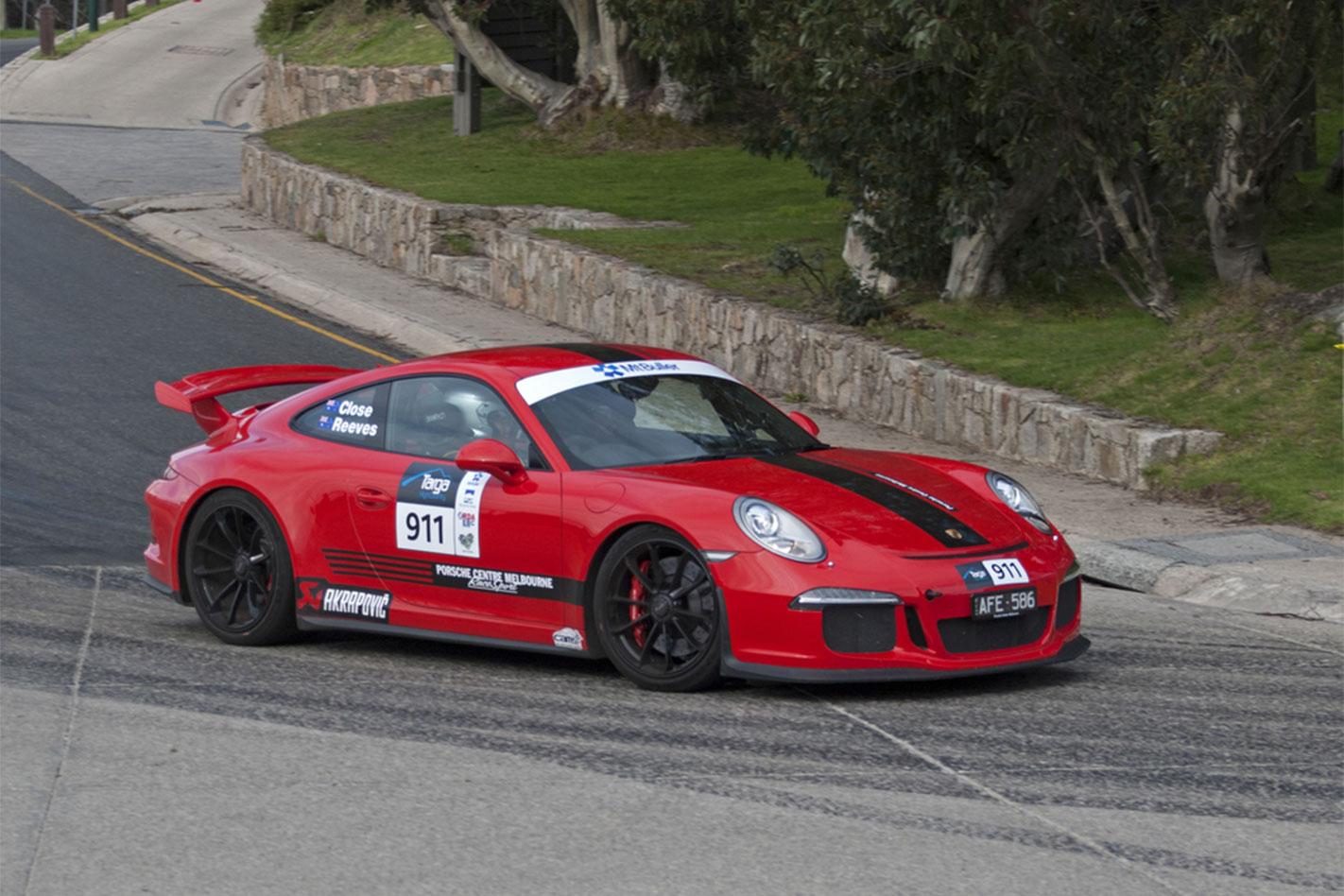 Porsche -911-GT3-Matt -Close