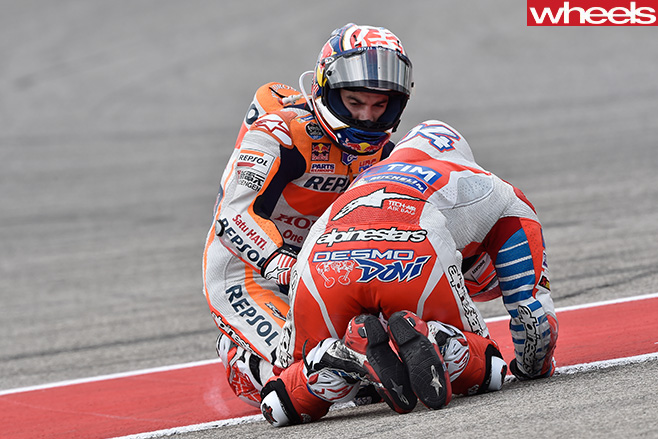 Motogp -racers -at -Americas