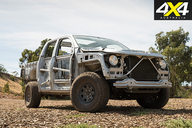 Naked Volkswagen amarok front