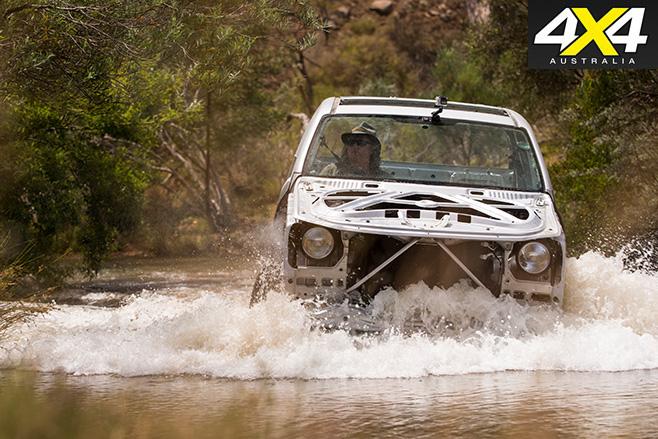 Naked Volkswagen amarok water front