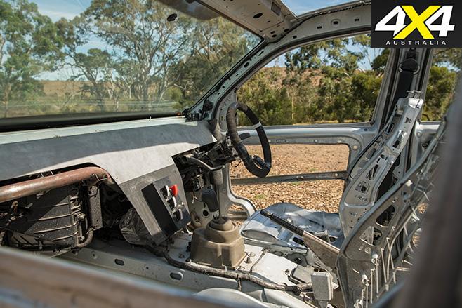 Naked Volkswagen amarok interior