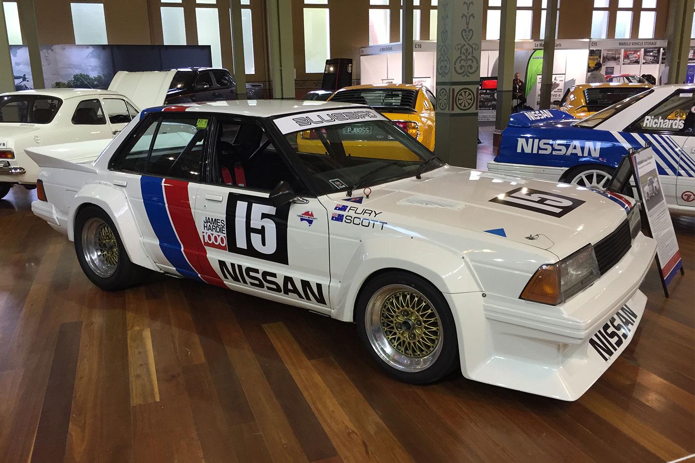 Nissan -Bluebird -Group -C