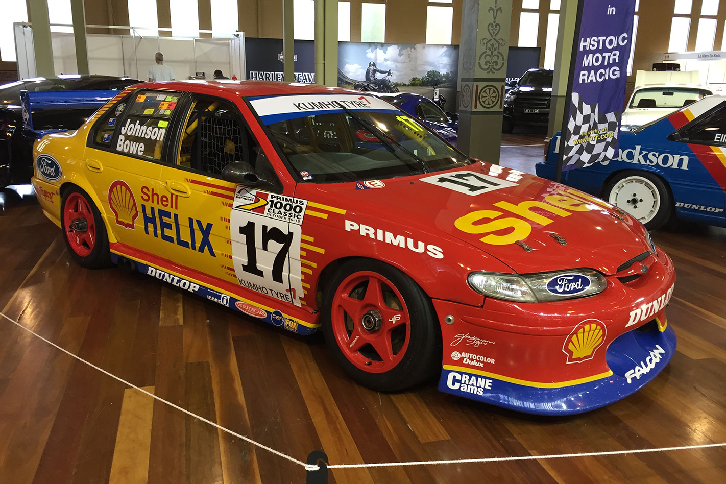 Shell -Helix -Ford -Falcon -V8-Supercar