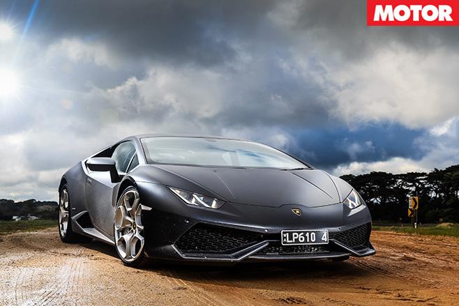 Lamborghini -Huracan -front -still
