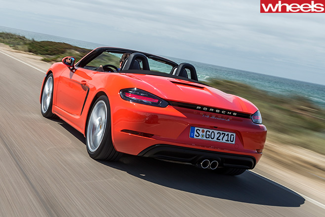 2016 porsche 718 boxster s review. Black Bedroom Furniture Sets. Home Design Ideas