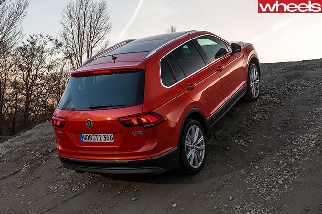 Volkswagen -Tiguan -rear
