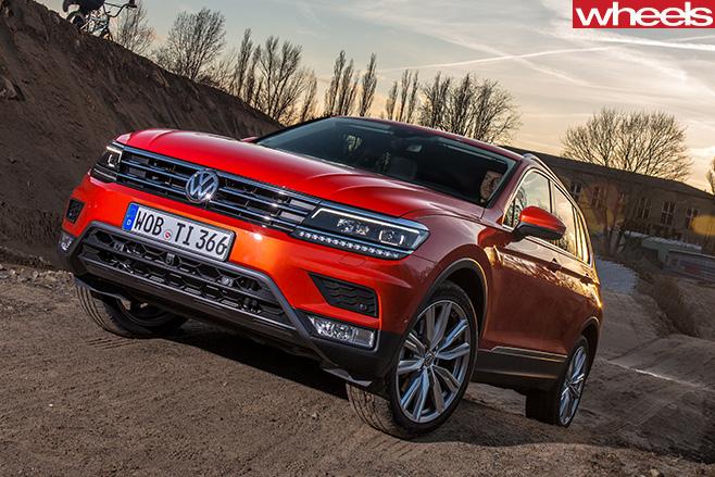 Volkswagen -Tiguan -front