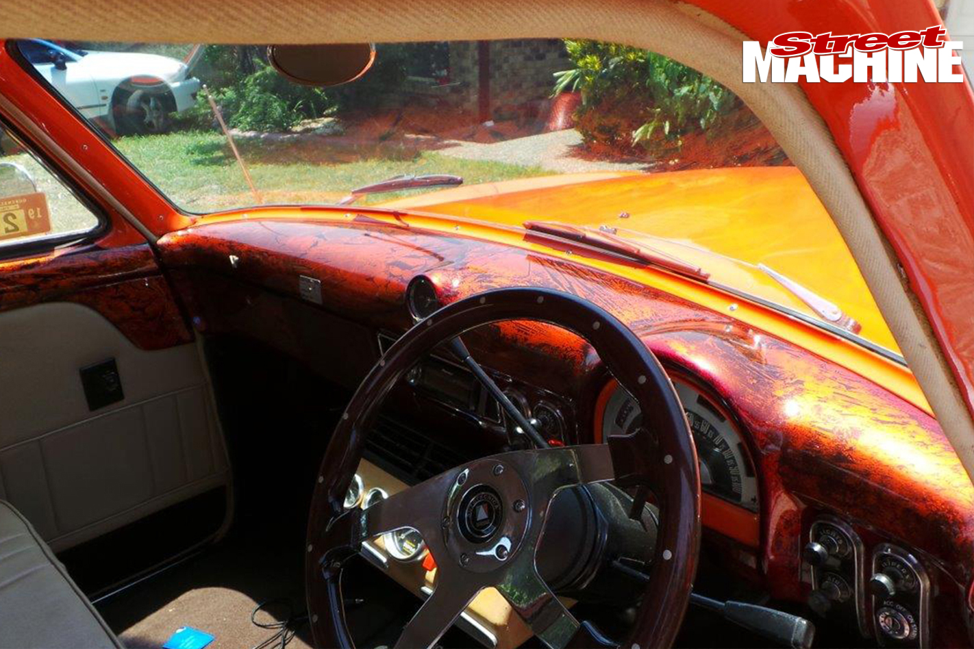 Ford -mainline -ute -old -skool -before -interior