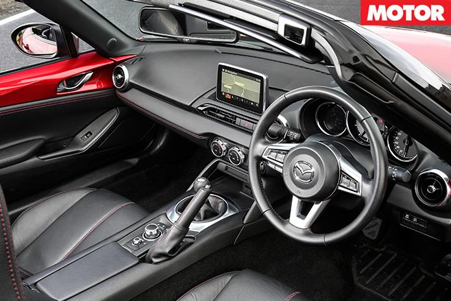 New mazda mx-5 interior 2