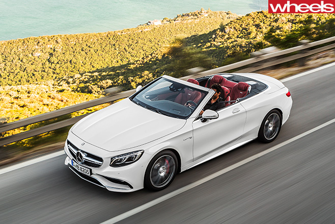 Mercedes -Benz -S500-top -driving
