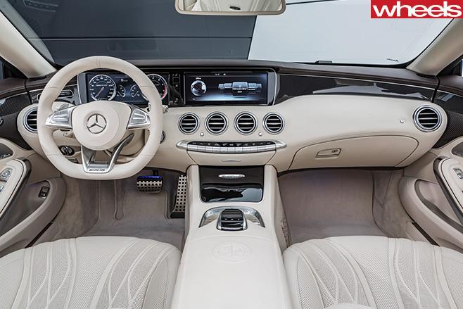 Mercedes -Benz -S500-interior