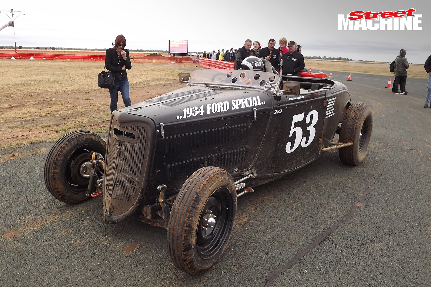 34 Ford Roadster Dirt Racer