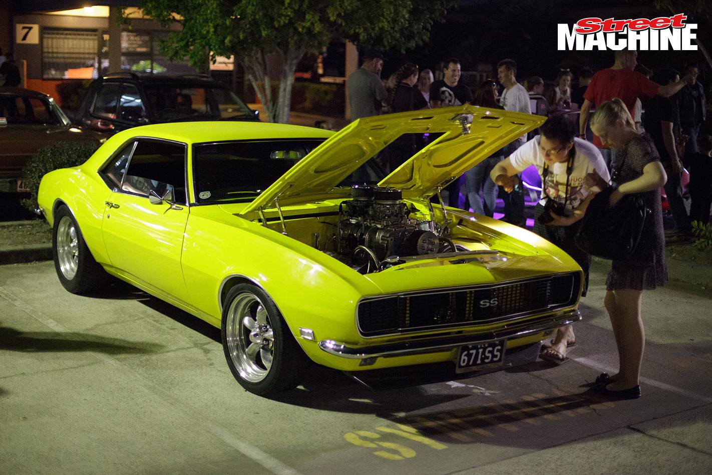 Blown 67 Camaro