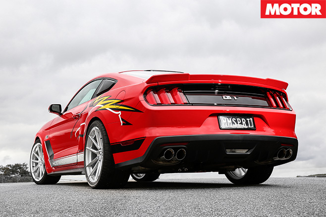 Roush Mustang R627 rear