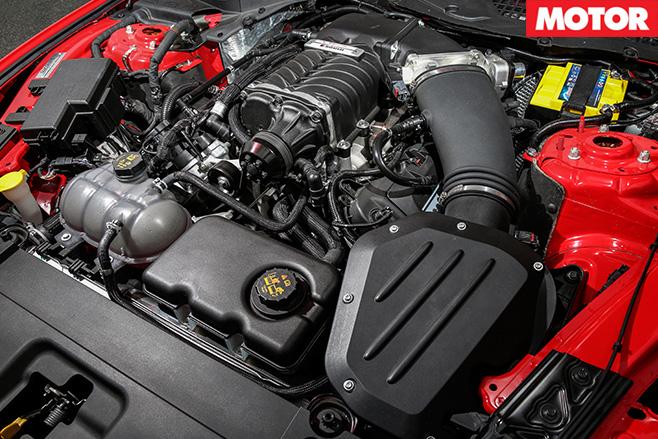 Roush R627 engine