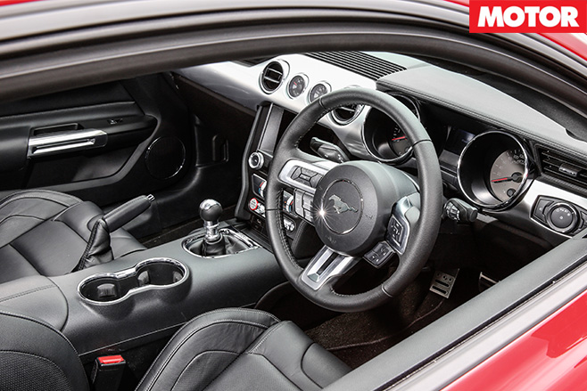 Roush R627 interior