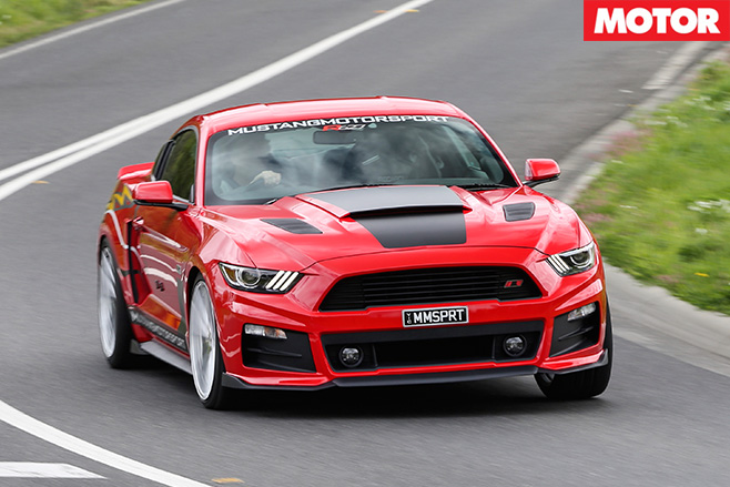 Roush Mustang R627 front