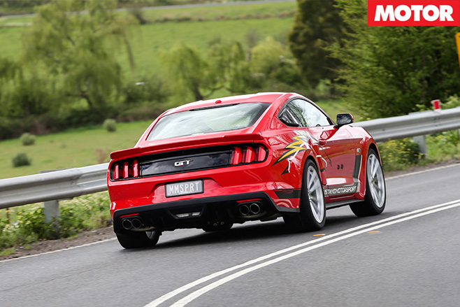 Roush R627 rear driving