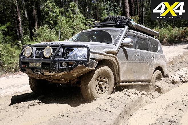 Custom 4x4 Y62 Nissan Patrol front