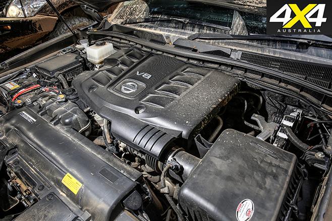 Custom 4x4 Y62 Nissan Patrol engine