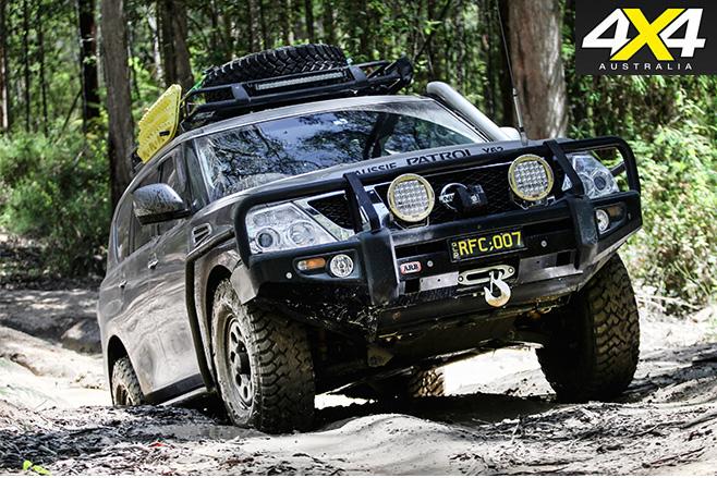 Custom Y62-Nissan Patrol four wheel driving