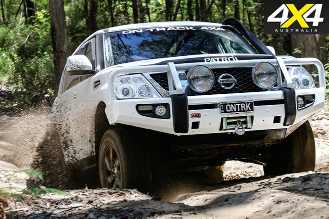 Nissan patrol ontrk