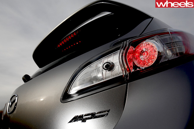 Mazda 3-MPS-rear