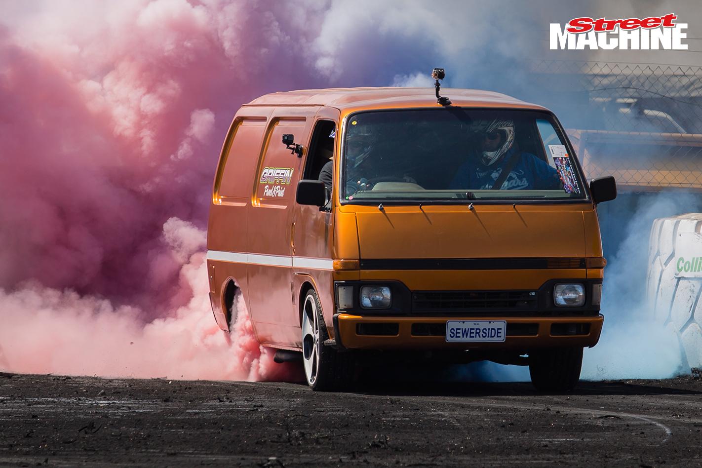 Sewerside Burnout Van